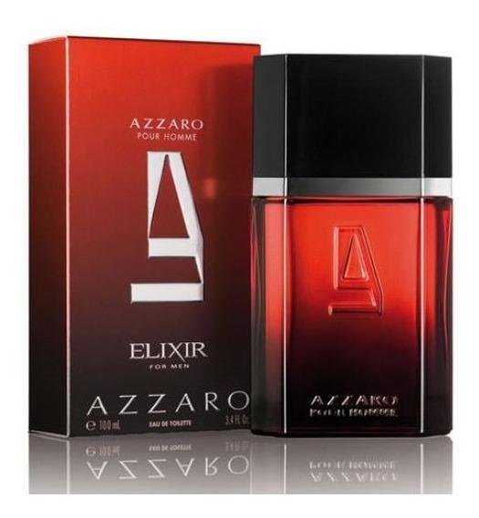 Perfume Azzaro Pour Homme Elixir Masculino Edt 100ml Fte Gts