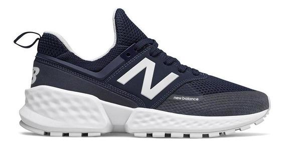 Tênis New Balance 574 Sport Casual Masculino Azul