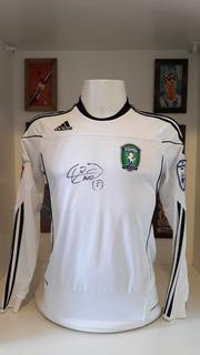 Camisa Futebol Tom Tomsk Russia Autografada