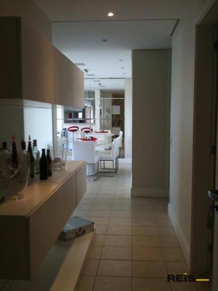 Apartamento Com 2 Dormitórios À Venda, 120 M² Por R$ 1.100.000 - Vila Alzira - Guarujá/sp - Ap0010