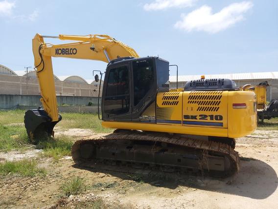 Excavadora Kobelco Sk210-9, Año 2014