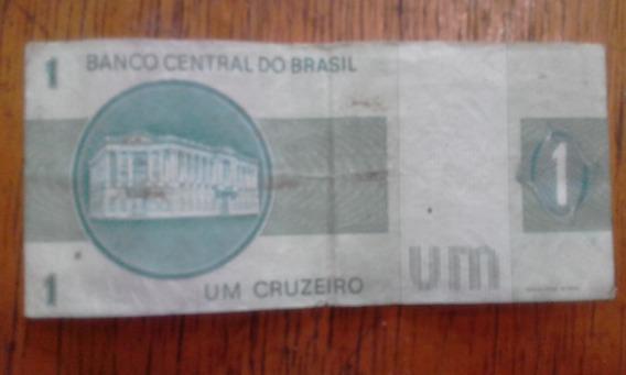 Cédula De Um Cruzeiro Ou Troco Po Revolver Do Rambo