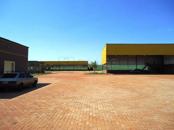 Galpão Comercial Em Ribeirão Preto - Sp - Ga0008_chaves