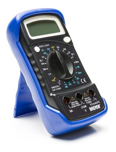 Tester Digital Multimetro Compacto Medidor Temp. Bremen