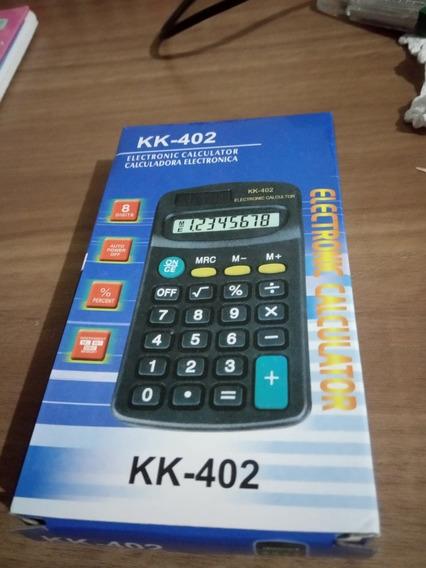 Calculadora Portátil Kk-402 Kit 03unidades