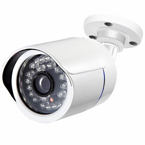 Câmeras Segurança Analógica 1200 Linhas Ircut 36 Led Infravermelho Visão Noturna Ip66 A Prova D