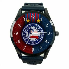 Relógio Bahia Feminino Futebol Esporte Club Novo Pulso T291