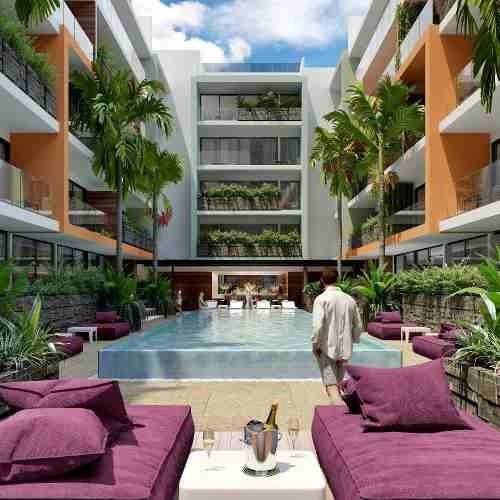 Estudio En ¨the City¨ Playa Del Carmen Excelente Inversión