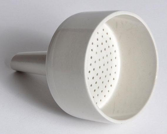 Embudo Buchner De Porcelana Ø 80 Mm. Importado