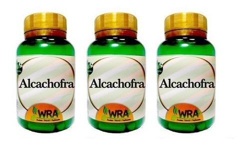 Imagem 1 de 6 de Alcachofra Kit Com 3 Potes