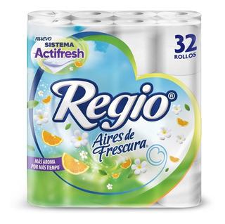Papel Higiénico Regio Aires De Frescura 32 Rollos