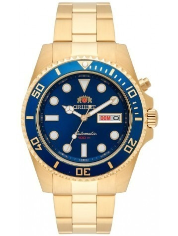 Relógio Orient Automático 469gp066 Mostrador Azul