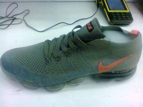 Tenis Nike Vapormax Verde E Laranja Nº38 Ao 43 Original