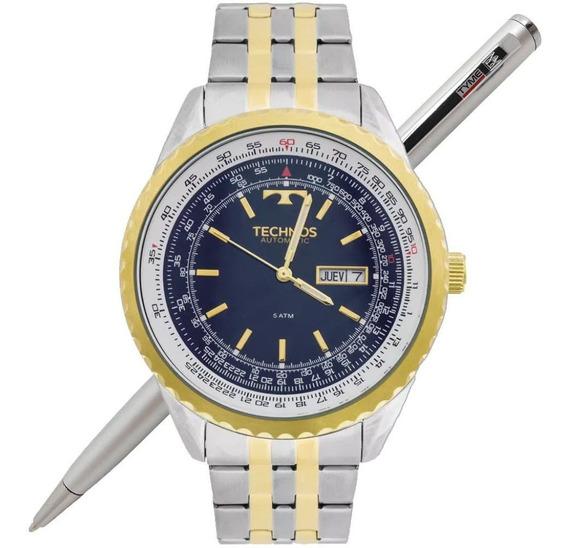 Relógio Technos Masculino Automático 8205no/5a - C/ Nfe