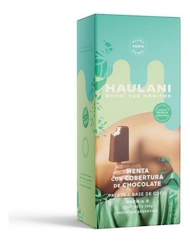 Paleta Haulani Bañada Menta Pack X 3u