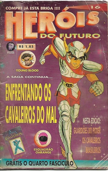 Heróis Do Futuro N. 16 - Editora Press