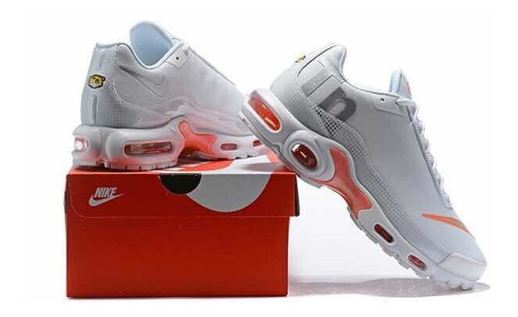 Tenis Nike Air Max Mercurial Tn White