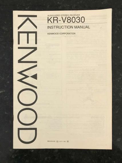 Manual Do Receiver Kenwood Kr-v8030