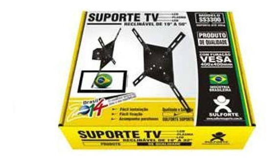 Suporte De Tv Lcd Plasma Led Universal 10 A 50 Ss3300