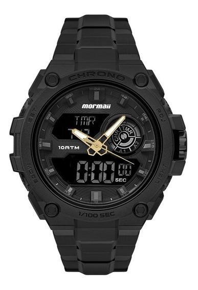 Relógio Mormaii Masculino Thunder Pro Dual Time Mozd1161a/1p