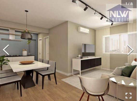 Apartamento Com 2 Dormitórios À Venda, 58 M² Por R$ 813.000,00 - Recanto Campo Belo - São Paulo/sp - Ap1835