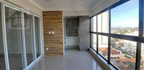 Imagem 1 de 16 de Apartamento Com 3 Dormitórios À Venda, 142 M² Por R$ 900.000,00 - Vila Mendonça - Araçatuba/sp - Ap0366
