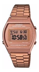 Relógio Casio B640wc-5adf Rose Feminino Original C/ Caixa