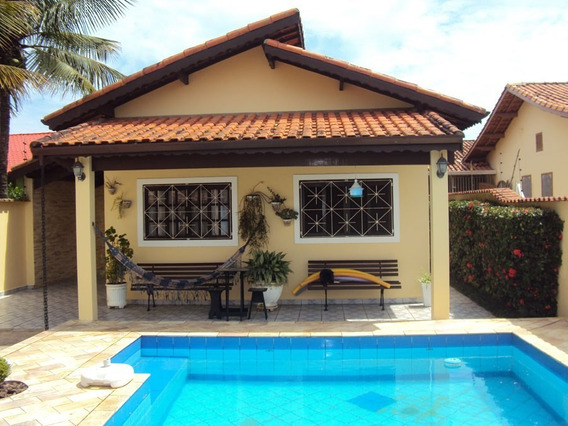 Casa Com Piscina Edicula 280 Metros Praia-ref. 714 Jamaica