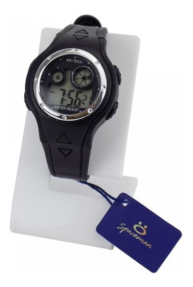 Relógio Masculino Borracha Prova Água Garantia Fábrica Top