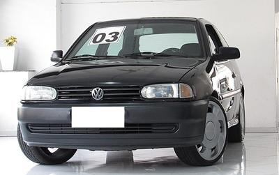 Volkswagen Gol 1.6 Mi Special Preto 8v Gasolina 2p 2003