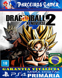 Dragon Ball Xenoverse 2 - Ps4 1 Digital - Combate