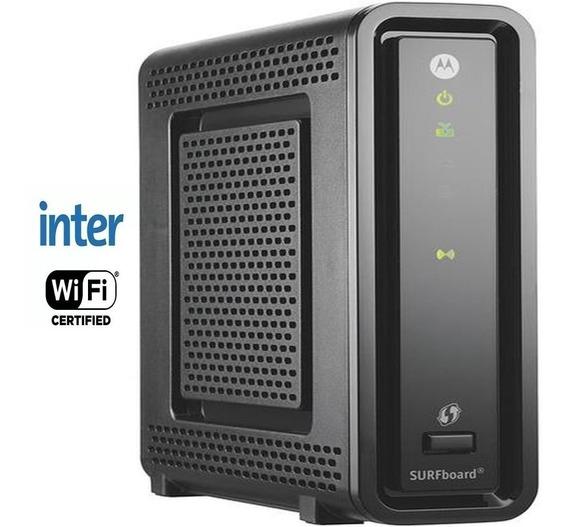Cable Modem Inter Motorola Sbg6580 Wi-fi Gigabit 3m De Gtía.