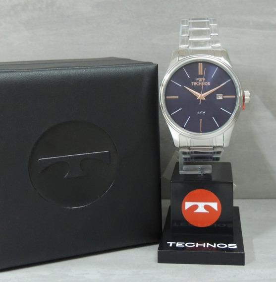 Relógio Technos Masculino 2115mpm/1k Classic Steel - Nfe