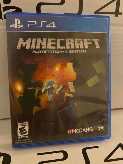 Minecraft Ps4 Mídia Física (cd)