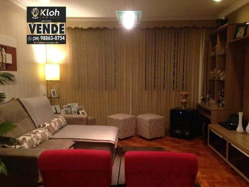 Imagem 1 de 21 de Apartamento À Venda No Bairro Quitandinha - Petrópolis/rj - 2944373040
