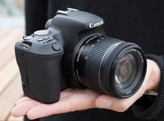 Camera Canon Sl2 +18-55mm Ls Stm +32gb Sdhc +nf-e