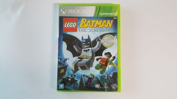 Jogo Lego Batman The Video Game - Xbox 360 - Original