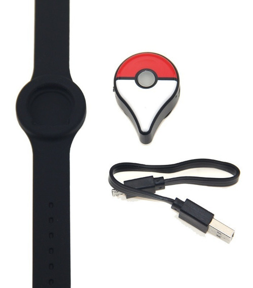 Pulsera Pokemon Go Plus Recargable Autocaptura Auto/manual