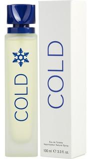Loción Perfume Cold Benetton 100ml Orig - L a $550