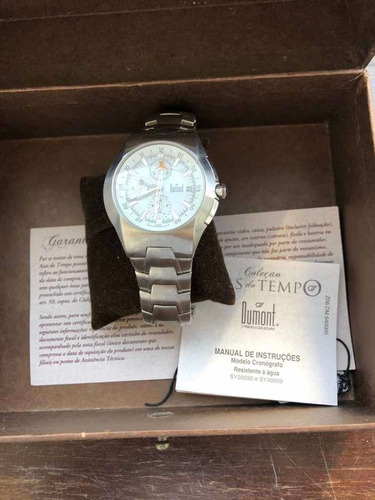 Relógio Dumont Asas Do Tempo Edição Especial Com Caixa
