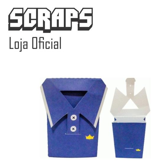 #0612 - Caixa Camisa Camiseta Dia Pais - Arquivo Silhouette