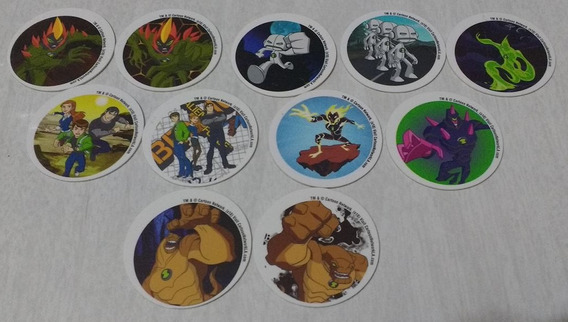 Lote 11 Tazos Ben 10 Alien Force Galletitas Formis