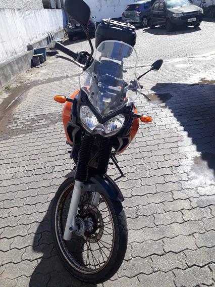 Yamaha Xtz Teneré 250 Cc Laranja Com Bauleto