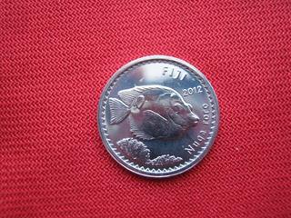 Fiji 5 Cent 2012 Fauna Pez