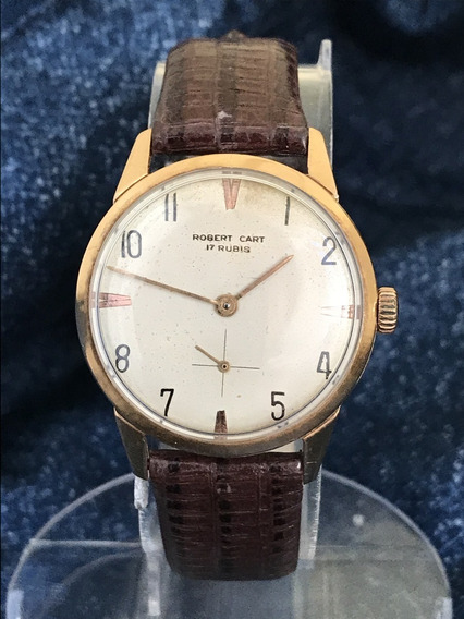 Relógio Nivel Omega Ouro 18k Maciço Masculino Robert Cart