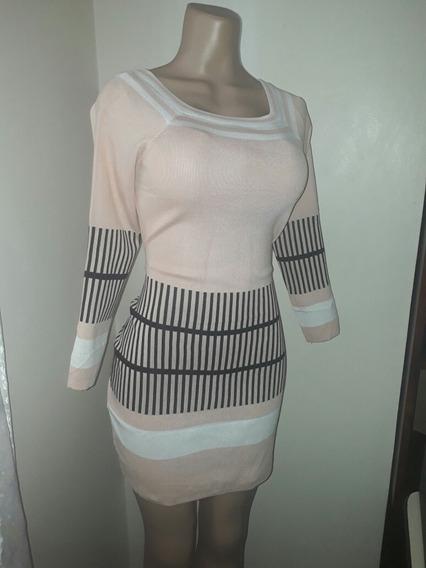 Vestido Elegante Casual De Dama Manga Larga