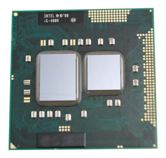 Processador gamer Intel Core i5-480M CN80617005487AC de 2 núcleos e 2.9GHz de frequência com gráfica integrada