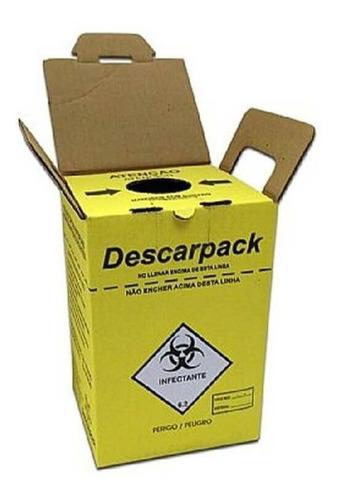 Imagem 1 de 1 de Descarpack Coletor Perfurocortante 7 L