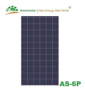 Painel Fotovoltaico / Modulo / Placa Amerisolar 330w Inmetro