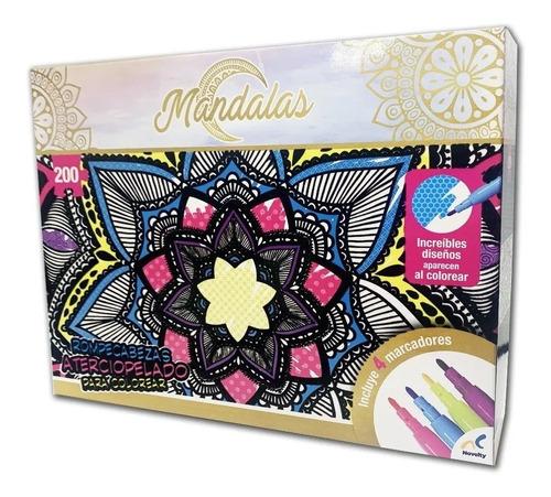 Rompecabezas Aterciopelado Novelty Para Colorear Mandala